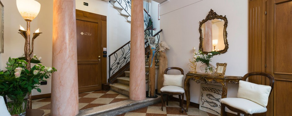 The hotel in Treviso in the heart of the historic center